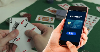 Payment methods in playing poker