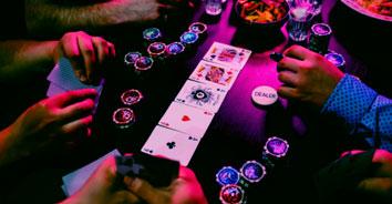 Poker betting round