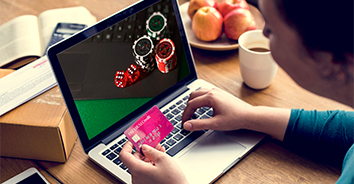 depositing funds on online casino