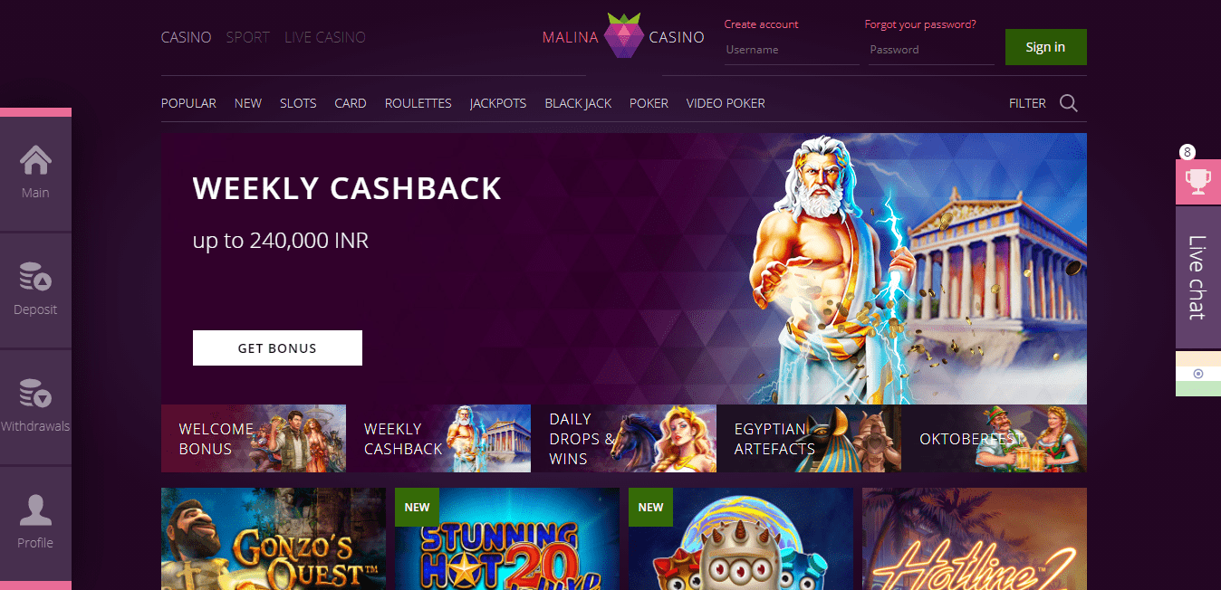 Casino Bonus Offer