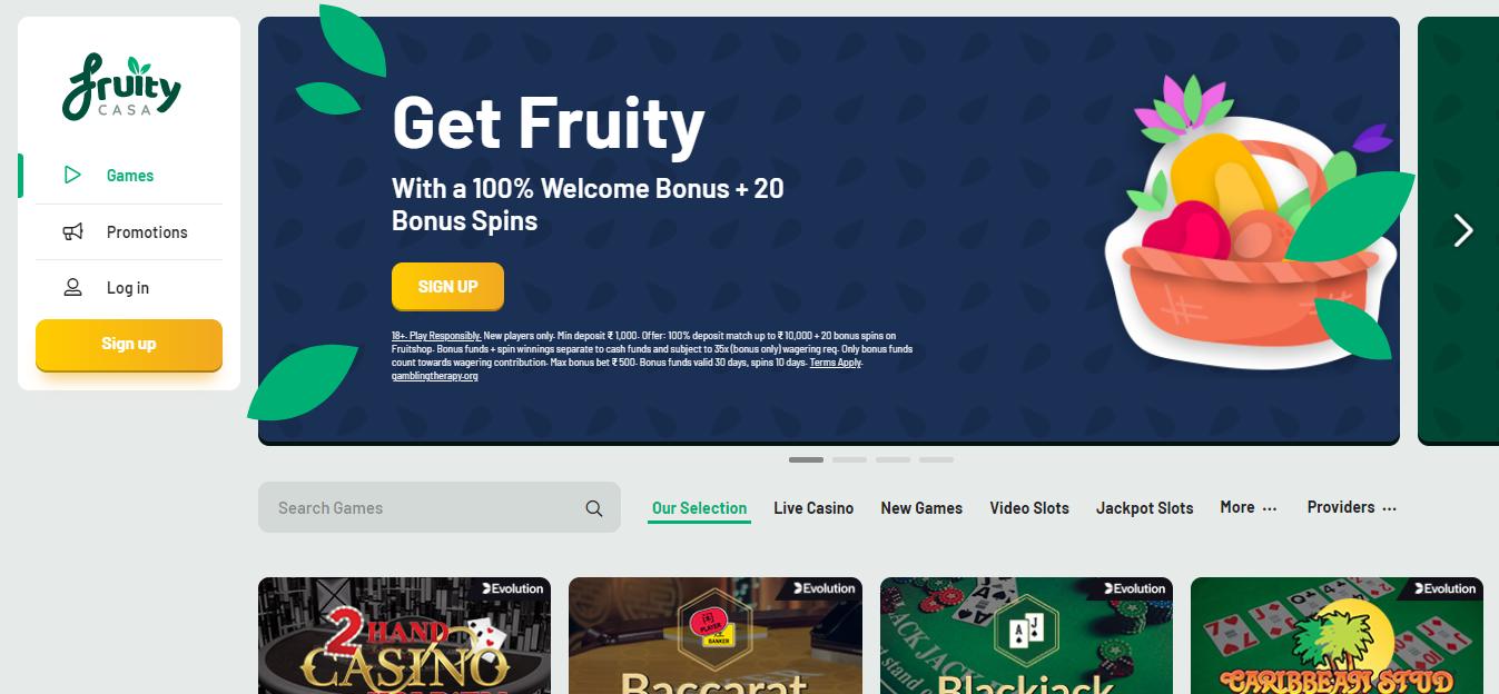 Casino Bonus Offer